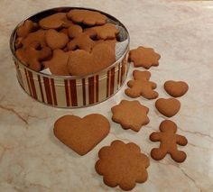 Baby Food Recipes, Sweet Recipes, Cookie Recipes, Ginger Cookies, Hungarian Recipes, Baking And Pastry, Christmas Sweets, Winter Food, Holiday Baking