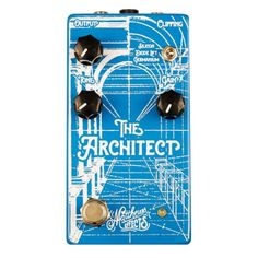 Matthews Effects The Architect Amp Inspired Overdrive Pedal with 3 Different Clipping Options (V1)