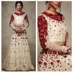 A French Floral Story by Varun Bahl for SS 2015