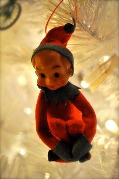 Christmas Elf Holiday Decoration