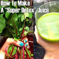 How To Make A Super Detox Juice