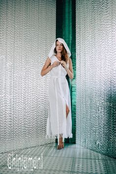 White Linen Shirt Dress ∆ Boho Vest Linen Clothes ∆ Women Long Dress ∆ Hooded Tribal Dress ∆ Linen Tunic ∆ Slit Organic Sun Dress with Hood White Linen Shirt, Linen Shirt Dress, Linen Tunic, White Boho Dress, White Linen Dresses, Womens Linen Clothing, Clothes Women, Boho Clothing, Steampunk