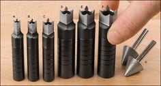 Poinçons-bédanes - Lee Valley Tools
