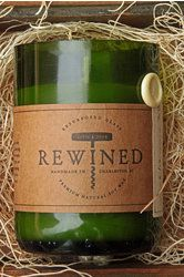 For the person who appreciates re-use & a good glass of wine :: Champagne - Rewined Candles