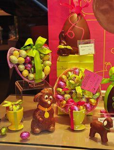 Easter Chocolates at DeNeuville, Paris