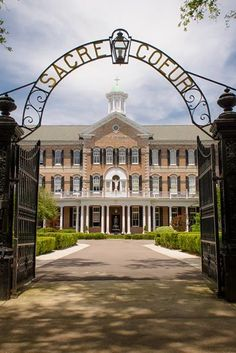 Academy of the Sacred Heart - The South's Most Beautiful High Schools - Southernliving. New Orleans, Louisiana  Founded in 1867, this all-girls Catholic school is set amidst the moss-covered oaks of St. Charles Avenue in New Orleans.