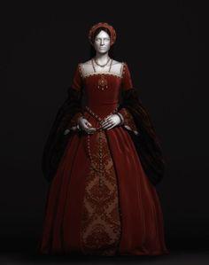 dresses from the 1500s | 1500's dress | Renaissance, Tudor and Elizabethean