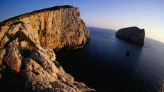 Capo Caccia and Isola Foradada, west of Alghero.