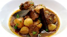 Stifado is famous in Greece and the Greek Islands as a traditional, fragrant stew and one that is a firm family favourite!