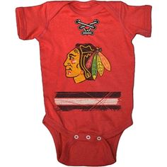 Old Time Hockey Chicago Blackhawks Onesie