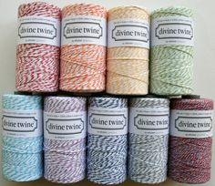 Full Spool 240 Yards Green Apple Baker's Twine by InTheClear