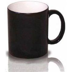 Por fuera aparenta ser una simple taza negra, pero al verter en su interior un líquido caliente o colocarla en el microondas, aparece la foto estampada! 10,50€