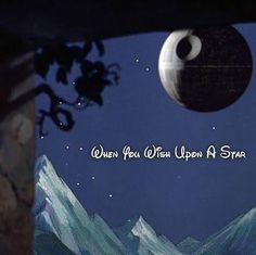 """When you wish upon a """"death"""" star..."""