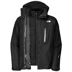 The North Face Crestridge Triclimate Ski Jacket (Men's) North Face Ski Jacket, Looks Cool, Sweater Shirt, The North Face, North Faces, Skiing, Snowboarding, Winter Jackets, Ski Jackets