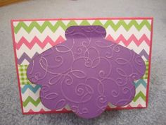 beach theme card- the clam shell opens and you can add something in it....cricut cart. lifes a beach
