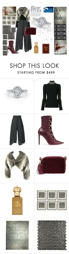 """Platinum and Diamonds...Shine"" by ascheron-jewels ❤ liked on Polyvore featuring Alexander Wang, Barbara Bologna, Altuzarra, Comme des Garçons, Chanel, Clive Christian, Eichholtz and Merola"
