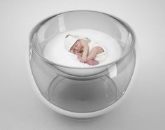 Bubble Baby Bed Concept by Lana Agiyan is definitely not the traditional baby crib. It turned out inspired by the image of a baby sleeping in a cloud of soap bubbles, but this bed is not just an illusion of futuristic crib, it's functional as well as emotion-evoking daycare appliance. Watch because the baby cuddle with this futuristic cloud-like pillow by way of this crib see-through system, you can rock the baby to sleep.