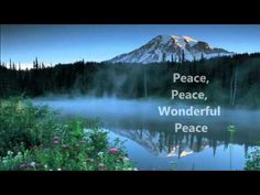 """There is something beautiful about the old hymns and this one Fiona shares above is no exception. If you are looking for """"Peace, Peace, Wonderful Peace"""" slow down for a few minutes and watch this video with this hymn written by Warren D. Cornell and W. George Cooper. Hugs. -Lisa"""