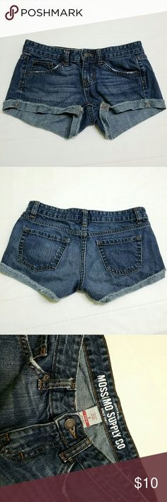 MOSSIMO Denim Pants Slightly used; in good condition Mossimo Supply Co. Shorts Jean Shorts