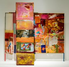 Robert Rauschenberg, Décor for Minutiae, Robert Rauschenberg, Merce Cunningham, Black Mountain College, Marble Columns, Downtown New York, Black And White Canvas, The Conjuring, Abstract Expressionism