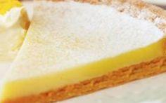 Recipe of the day: lemon tart Greek Sweets, Greek Desserts, Cold Desserts, Greek Recipes, Delicious Deserts, Yummy Food, Cheesecake Cupcakes, Pie Cake, Vanilla Cake