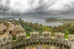 Vista desde el Castillo de Granadilla (Cáceres)