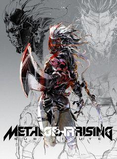 Metal Gear Rising fanart