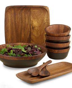 Noritake Serveware, Kona Wood Collection | macys.com