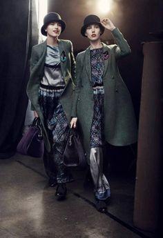 Emporio Armani Fall 2013 Campaign Taps Jacquelyn Jablonski, Ruby Aldridge and More | Fashion Gone Rogue: The Latest in Editorials and Campaigns