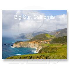 Big Sur 0033 California Postcard Post Card in the Cheshire Cat Photo Store on Zazzle!
