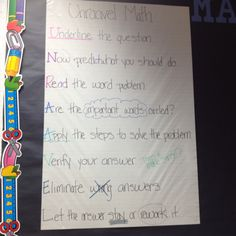 UNRAVEL Math... Saw this in a classroom the other day and loved it