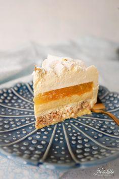 Exotic Honey Torte - Maren Lubbe - Feine Köstlichkeiten Raspberry Torte, 5 Star Recipe, Chocolate Torte, Cupcakes, Exotic, Honey, Cooking Recipes, Baking, Fruit