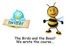 The birds and the bees? We wrote the course...    Visit us: www.createasocialbuzz.com/the-buzz-about-us/