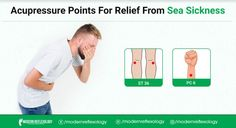 Did you that diseases like seasickness can also be dealt with acupressure therapy #Modernreflexology #Reflexology #Acupressure #pressuretherapy #seasickness #sickness #Health Acupressure Therapy, Acupressure Points, Reflexology, Sick, Health, Acupressure, Acupuncture, Health Care, Trigger Points