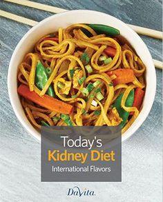 Today's Kidney Diet International Flavors Cookbook