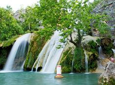 Turner Falls in south central Oklahoma's Chickasaw Country. I grew up going here every summer and more. One of the most awesome places to swim, hike, camp, etc.