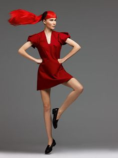 Credit: Liam Duke for the Guardian.   Styling by Nicola Rose Dress £99, by Cos<...