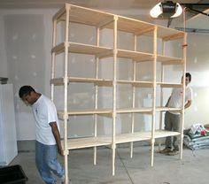 4 level shelves instead?