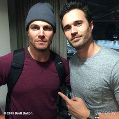 What good is an Arrow without a SHIELD? || Brett Dalton || Instagram || #cast