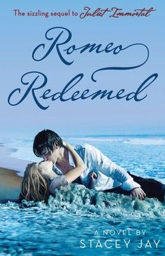 Romeo Redeemed  by Stacey Jay  Series: Juliet Immortal #2  Publisher:Random House Children's Books  Publication date: October 9, 2012  Genre: YA Paranormal Romance (click image to read my review)