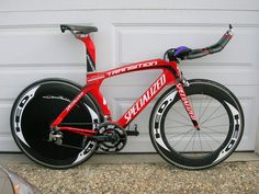 Variations of the bike I race on...a Specialized Transition TT bike