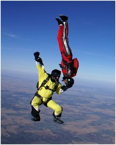 Skydiving wow that would be HARD