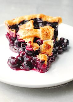 Easy Homemade Blueberry Pie Recipe