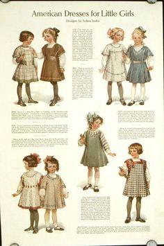 Robes Vintage De 1910 – Best Ideas in 2020 Historical Costume, Historical Clothing, Robes Vintage, Vintage Outfits, Vintage Girls, Vintage Children, Edwardian Fashion, Vintage Fashion, 1900s Fashion