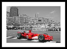 Michael Schumacher Monaco Formula One Spot Colour Photo Memorabilia (SPOT539)