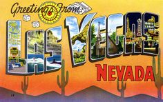 Greetings from Las Vegas, Nevada - Large Letter Postcard by Shook Photos, via Flickr