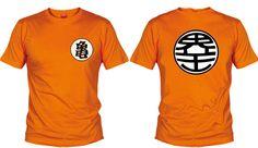 Camiseta Uniforme Goku - Camisetas Dragon Ball - Camisetas Anime - Manga - Fanisetas - Camiseta con
