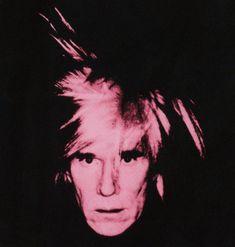 Andy Warhol: Self-Portrait, 1986 (pink on black Kunstdruck, Leinwandbild Andy Warhol, Pop Americano, Royal Art, Pop Art Movement, Arte Pop, Art Auction, Portrait, Art For Sale, Opera