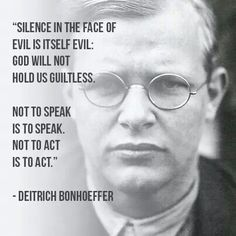 Dietrich Bonhoeffer~he was a German Lutheran pastor, theologian and anti-Nazi dissident