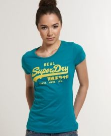 Superdry women's Vintage Logo t-shirt.